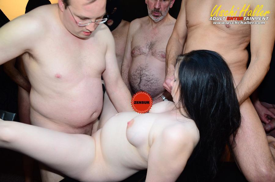 sex für taschengeld gang bang party