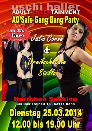 Consider, Gang bang parties ontario canada right!